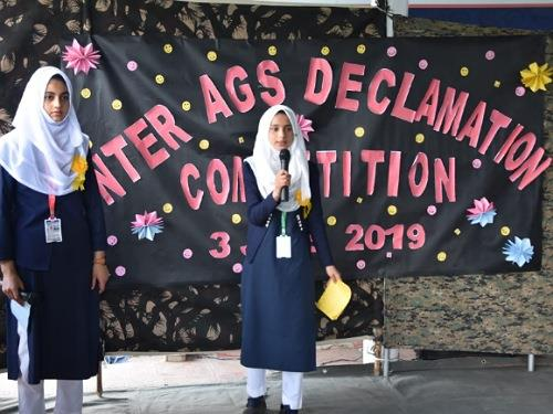 Inter AGS declimation competition